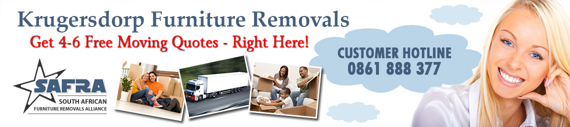 Furniture Removals in Krugersdorp | Krugersdorp Furniture Removal